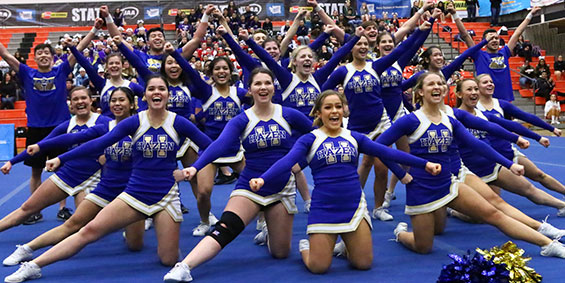 State Cheerleading Expanded to 2-Day Event